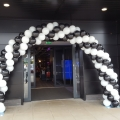 Outdoor arch at Village Hotel Glasgow