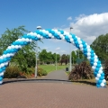 Outdoor large arch for race start