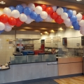 Spiral arch in Dominos Cambuslang