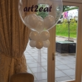 Deco bubble with small balloons inside