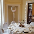 Wedding Deco bubble with LED lights