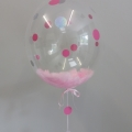 Feather Baby Shower bubble