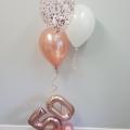 Confetti cluster balloon
