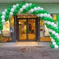 Outdoor arch at Specsavers Dumbarton