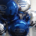 Ford commercial vehicle balloons