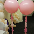 Giant gumball latex balloons