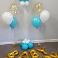 Baby Lennox shower balloons