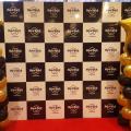 Black and Gold Column at Hard Rock cafe