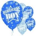 Birthday boy blue and light blue
