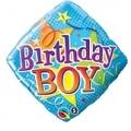 Birthday boy stars design