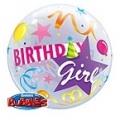 Birthday girl bubble