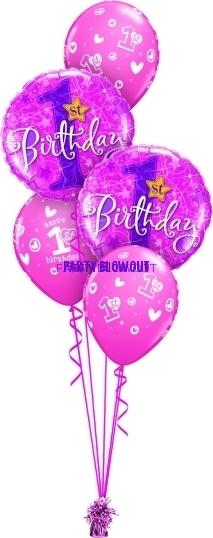 1st Birthday Girl Classic