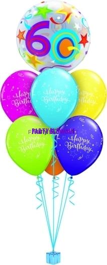 60 Birthday Bubble Luxury