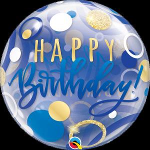 Birthday Bubble balloons