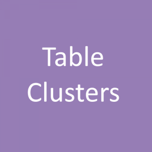 Communion Table Clusters