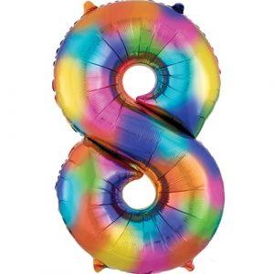 Rainbow Numbers Large
