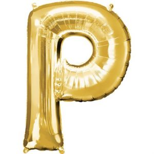 Large Gold Letters