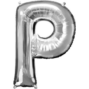 Large Silver Letters